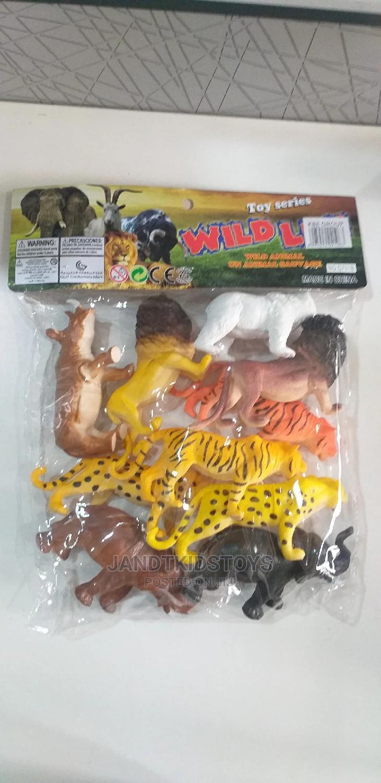 10 Piece Wild Life Animal Model Pack