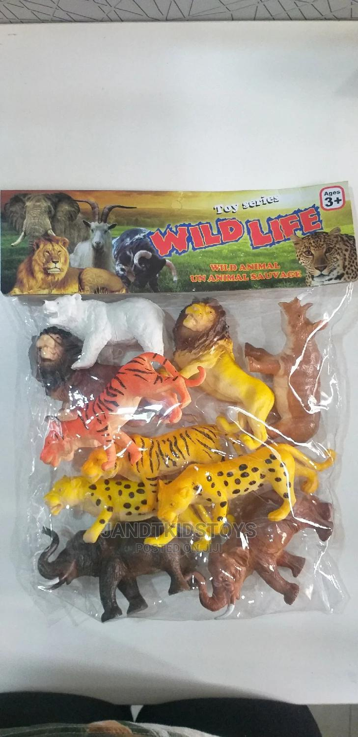 10 Piece Wild Life Animal Model Pack | Toys for sale in Gwarinpa, Abuja (FCT) State, Nigeria
