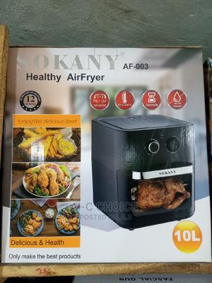 Sokany Healthy Air Fryer-10l | Kitchen Appliances for sale in Lagos State, Lagos Island (Eko)