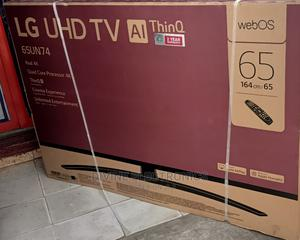 """LG Uhd 4K TV 65""""Inch 4K Active Hdr Webos Smart Ai Thinq 