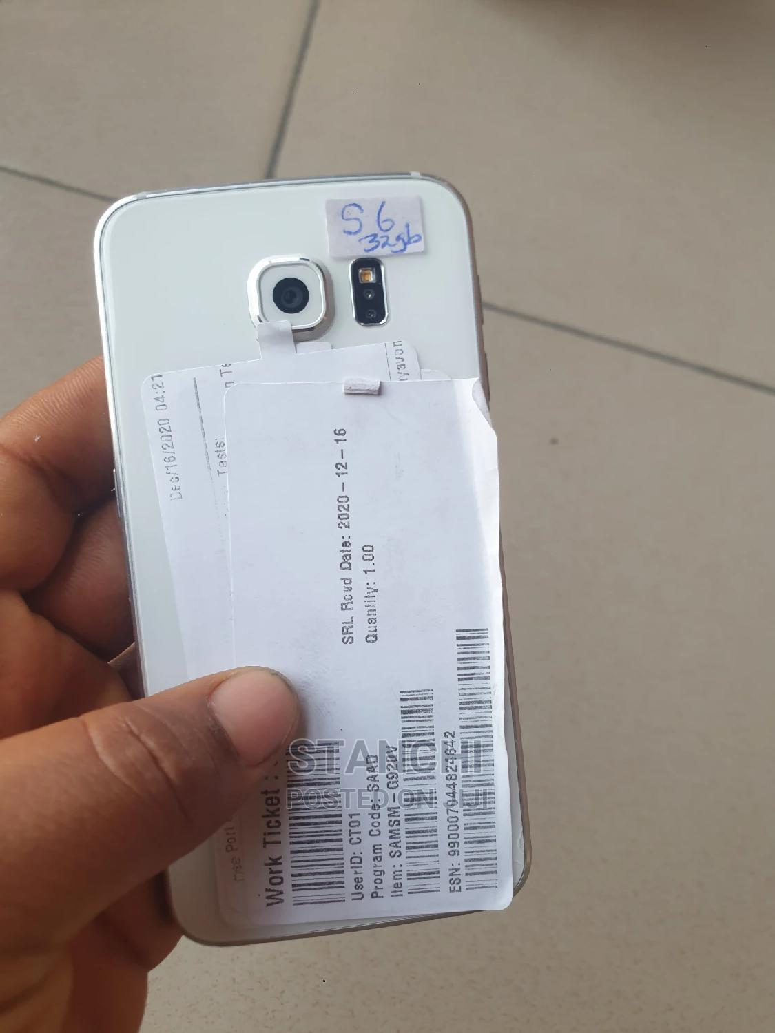 Samsung Galaxy S6 32 GB White   Mobile Phones for sale in Fagge, Kano State, Nigeria