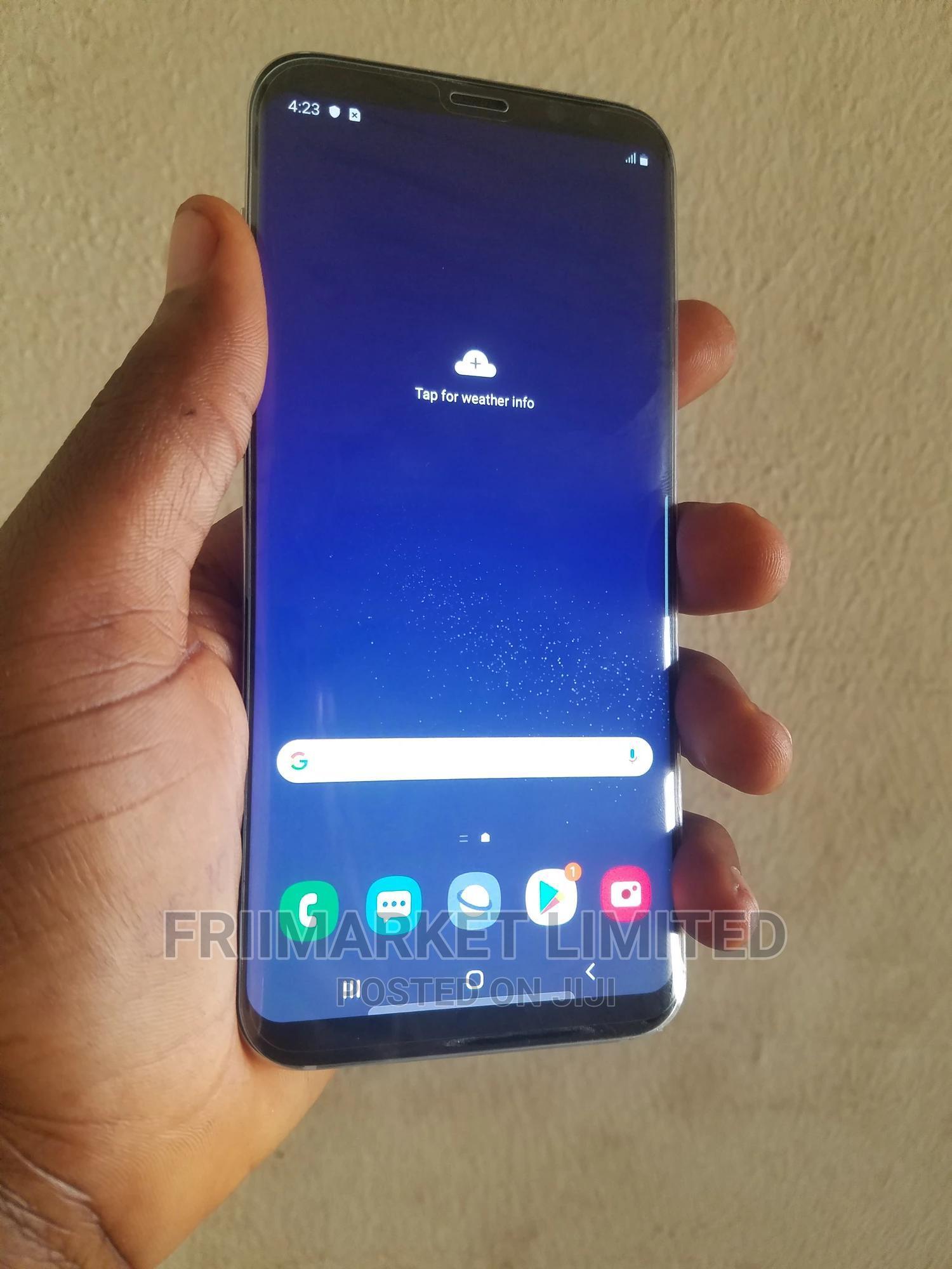 Samsung Galaxy S8 Plus 64 GB Gold   Mobile Phones for sale in Benin City, Edo State, Nigeria