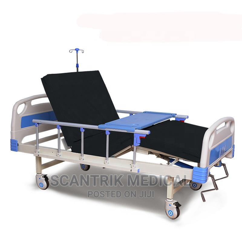 High Quality Manual Crank Hospital Bed