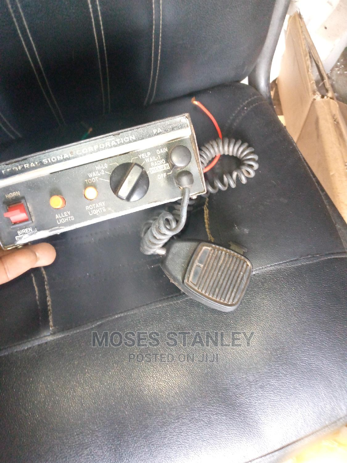 Tokunbo Amp for Siren | Vehicle Parts & Accessories for sale in Mushin, Lagos State, Nigeria