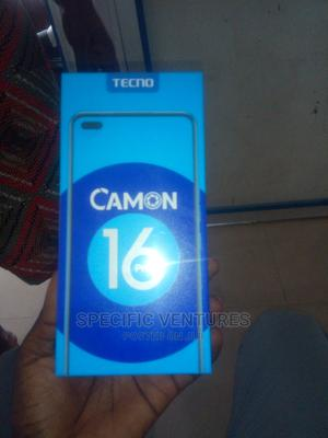 New Tecno Camon 16 64 GB Black   Mobile Phones for sale in Lagos State, Ikeja
