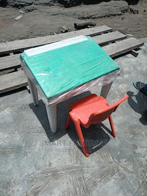 Children's Plastic Table With Chair   Children's Furniture for sale in Lagos State, Ikorodu