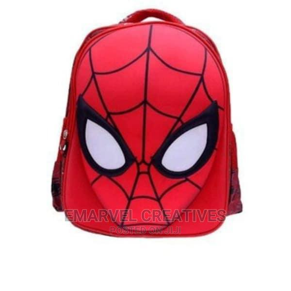 Spiderman School Bag - Red
