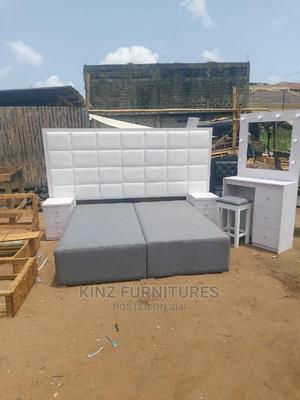 6 by 6 = Bedframe Complete Set   Furniture for sale in Lagos State, Ojo