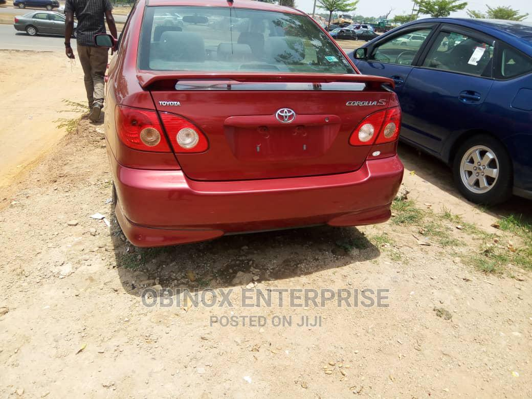 Toyota Corolla 2006 S Red   Cars for sale in Durumi, Abuja (FCT) State, Nigeria