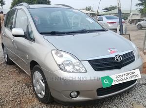 Toyota Corolla 2004 Verso 1.8 VVT-i Luna Gold | Cars for sale in Abuja (FCT) State, Gwagwalada