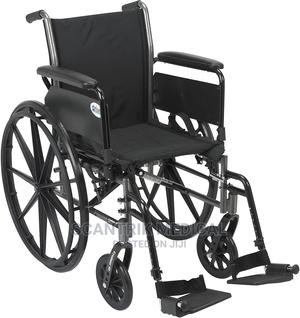 Strong and Sturdy Wheelchair   Medical Supplies & Equipment for sale in Abuja (FCT) State, Jiwa