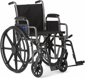 Hospital Leather Armrest Wheelchair   Medical Supplies & Equipment for sale in Abuja (FCT) State, Kwali