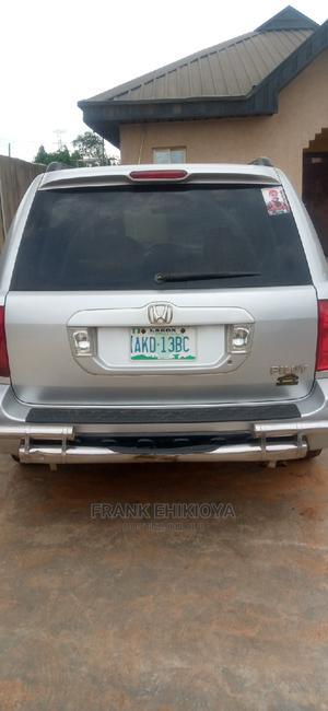 Honda Pilot 2005 Silver | Cars for sale in Lagos State, Ikorodu