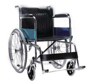 Good Quality Lightweight Folding Manual Wheelchair | Medical Supplies & Equipment for sale in Abuja (FCT) State, Gwarinpa