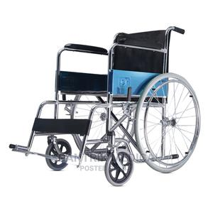 Portable, Strong and Sturdy Wheelchair for the Sick   Medical Supplies & Equipment for sale in Abuja (FCT) State, Kpeyegyi