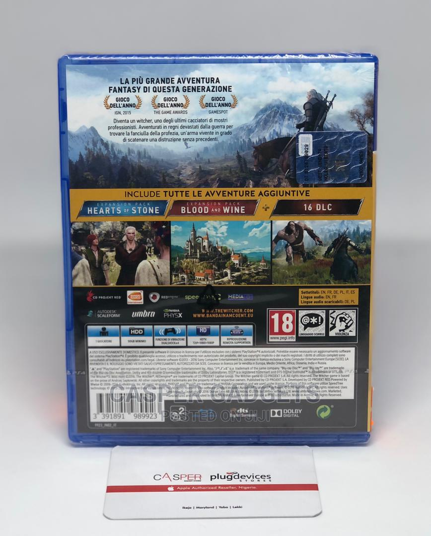 The Witcher 3: Wild Hunt   Video Games for sale in Ikeja, Lagos State, Nigeria