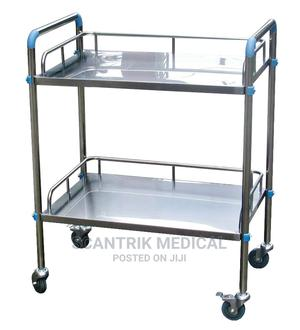 Stainless Steel Medical Instrument Trolley   Medical Supplies & Equipment for sale in Abuja (FCT) State, Wuye