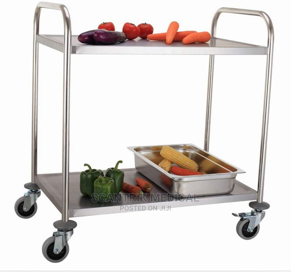 Mobile Stainless Steel Instrument Trolley