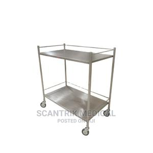 Stainless Steel Instrument Trolley   Medical Supplies & Equipment for sale in Abuja (FCT) State, Kurudu