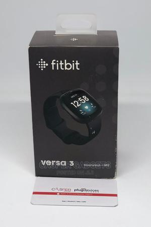 Fitbit Versa 3 Health Fitness Smartwatch With GPS   Smart Watches & Trackers for sale in Lagos State, Ikeja