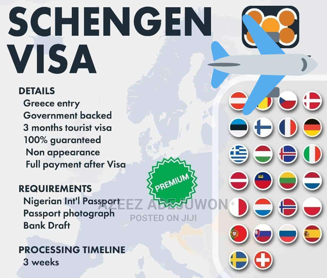 Schengen (Spain, Sweden) Visa Available
