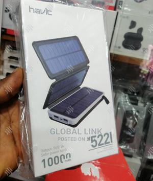 Havit H5221 10000MAH 5v/2.1a Solar Power Bank   Accessories for Mobile Phones & Tablets for sale in Lagos State, Ikeja