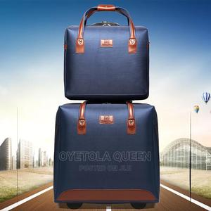 Quality 2 Wheeled Trolley Luggage Box Available Now   Bags for sale in Abuja (FCT) State, Gwarinpa