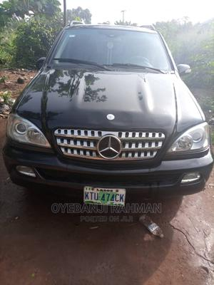 Mercedes-Benz M Class 2001 ML 55 AMG Black | Cars for sale in Lagos State, Ikorodu