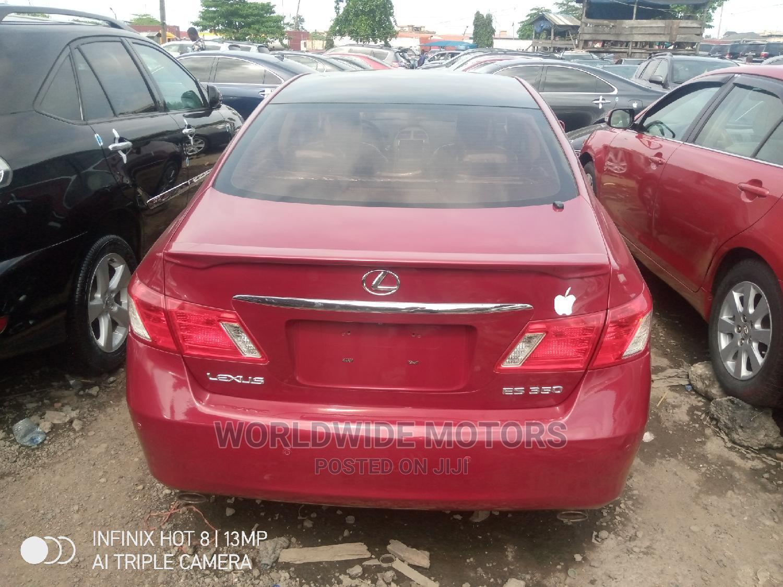 Lexus ES 2009 350 Red   Cars for sale in Apapa, Lagos State, Nigeria