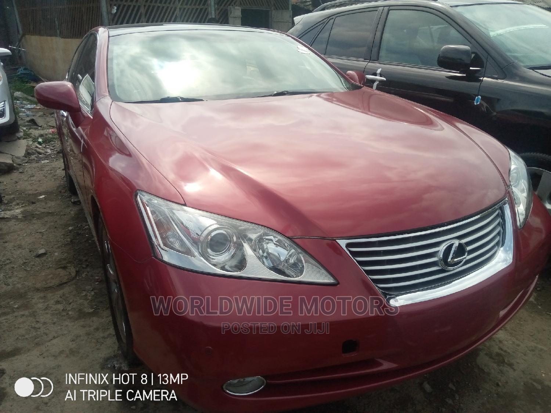 Lexus ES 2009 350 Red