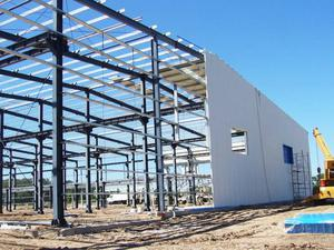 Warehouse and Factory Steel Building/Construction With Crane   Building & Trades Services for sale in Lagos State, Ikeja