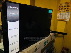 Original HISENSE 65 Inches UHD Smart TV   TV & DVD Equipment for sale in Lagos State, Amuwo-Odofin
