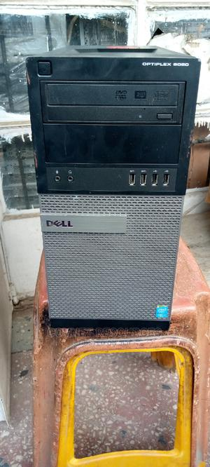 Desktop Computer Dell OptiPlex 7070 8GB Intel Core I7 HDD 500GB   Laptops & Computers for sale in Lagos State, Ikeja