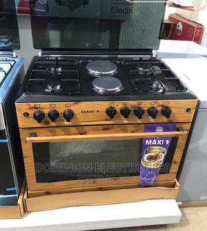 New Maxi Auto Ignition 4gas 2electric Oven Grill 60*90cm | Kitchen Appliances for sale in Lagos State, Ojo
