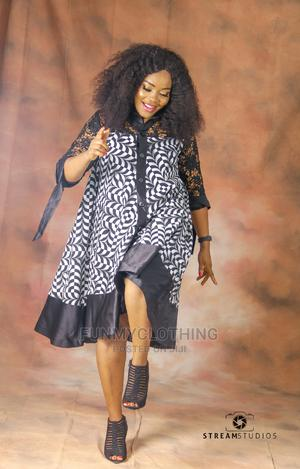 Ankara and Lace Shirt Dress   Clothing for sale in Lagos State, Amuwo-Odofin