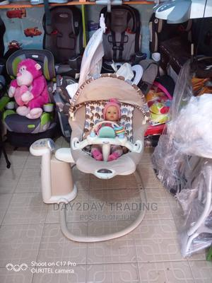 Tokunbo Uk Used Graco 2in1 Baby Swing and Rocker With Mp3 | Children's Gear & Safety for sale in Lagos State, Ikeja