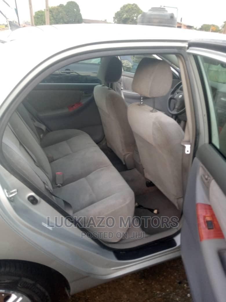 Archive: Toyota Corolla 2007 Gray
