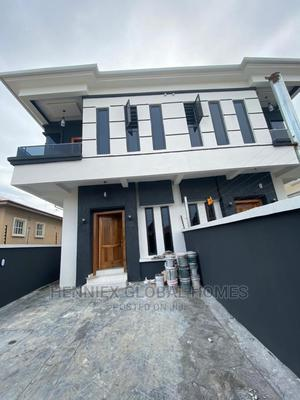 Lovely 4 Bedroom Semi Detached Duplex With Bq for Sale | Houses & Apartments For Sale for sale in Lekki, Ikota