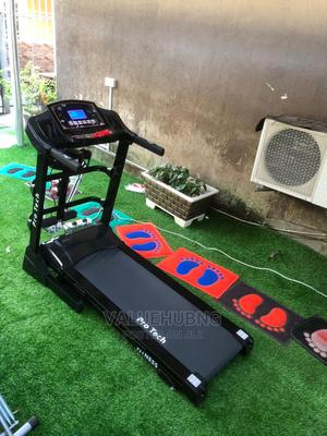 2.5hp Treadmill With Massager and Dumbells   Sports Equipment for sale in Lagos State, Ajah