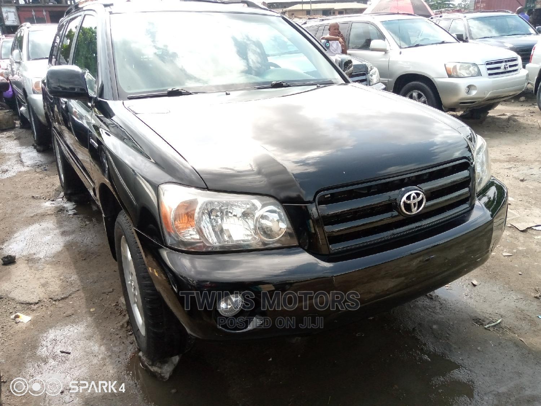 Toyota Highlander 2005 Black   Cars for sale in Apapa, Lagos State, Nigeria