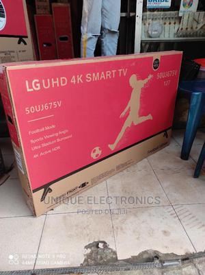 "2021 New LG 50""Inch SMART 4K HIGH Definition Google Tv+Mount | TV & DVD Equipment for sale in Lagos State, Ojo"