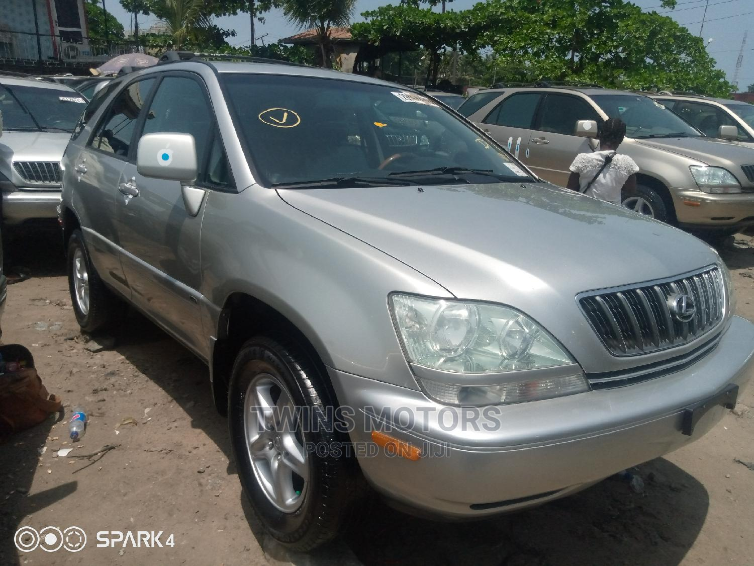 Lexus RX 2003 Silver   Cars for sale in Apapa, Lagos State, Nigeria