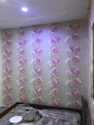 Wallpaper 16.5squaremeter Over 200designs Wholesale Retail | Home Accessories for sale in Abuja (FCT) State, Dakwo District