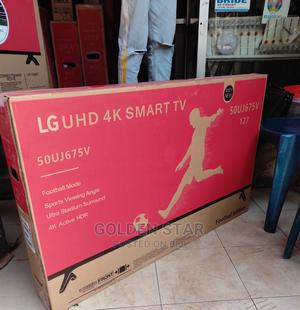 2021 New LG 50''inch UHD 4K SMART TV Android Connet+Mount | TV & DVD Equipment for sale in Lagos State, Lekki