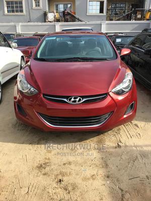 Hyundai Elantra 2013 Red   Cars for sale in Lagos State, Amuwo-Odofin