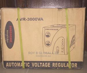 Eurosonik 3000VA Automatic Voltage Regulator / Stabilizer   Home Appliances for sale in Lagos State, Lagos Island (Eko)