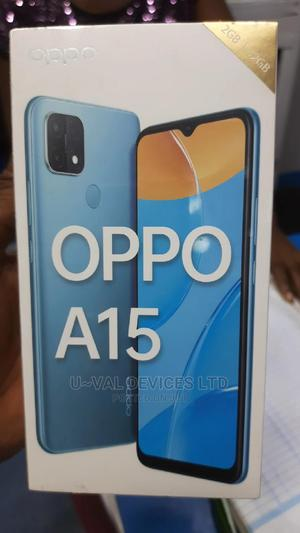 New Oppo A15 32GB Black | Mobile Phones for sale in Lagos State, Ikeja