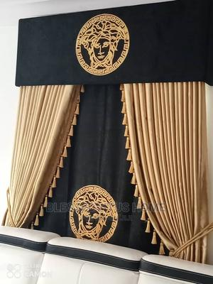 Classic Versace Curtains for Living Room | Home Accessories for sale in Lagos State, Lekki