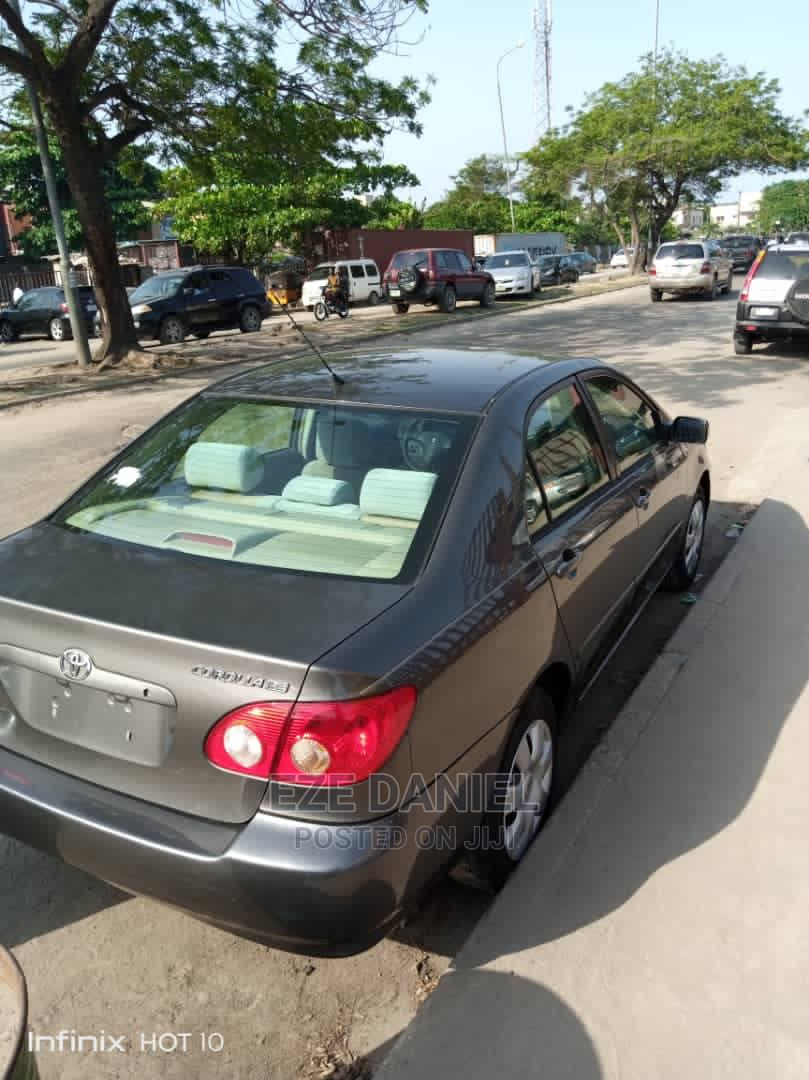Toyota Corolla 2007 LE Gray | Cars for sale in Amuwo-Odofin, Lagos State, Nigeria