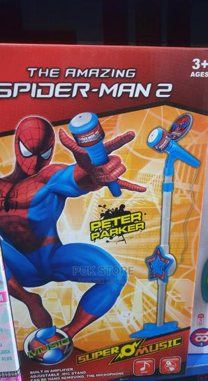 Spiderman Kids Microphone | Toys for sale in Lagos State, Ikoyi